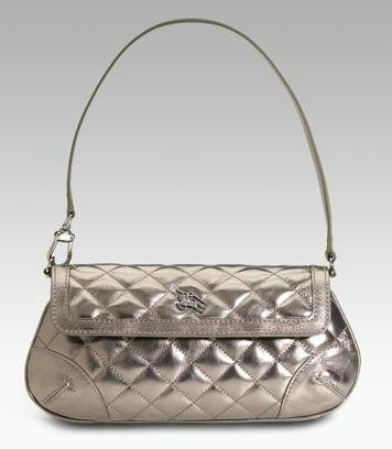 burberry silver quilted handbag - beautiful handbags 4 glz