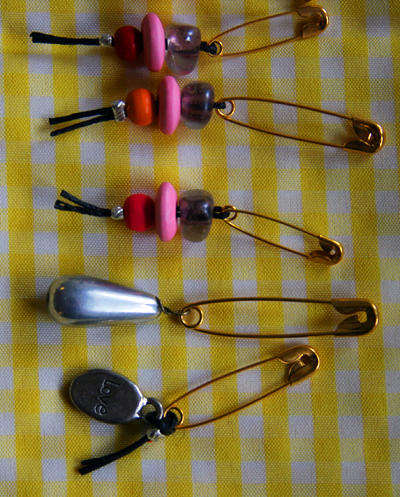 Crochet Stitch Markers How To Use : Make Stitch Markers for Knitting or Crochet - Dollar Store Crafts