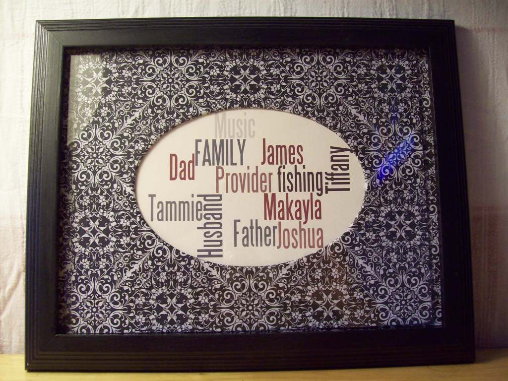 Framed Print by Dollar Store Crafts