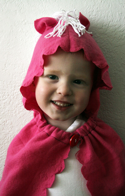 make a hooded play cape  u00bb dollar store crafts
