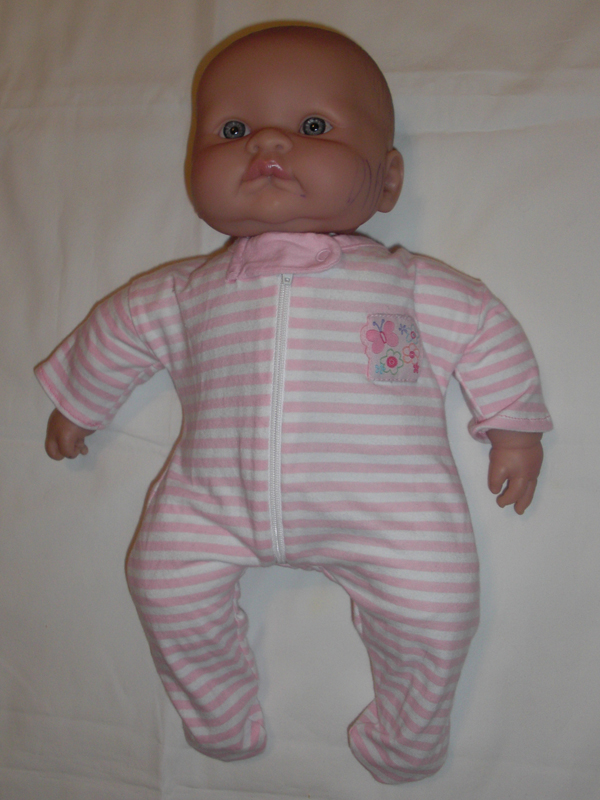 Doll Clothes from Baby Clothes