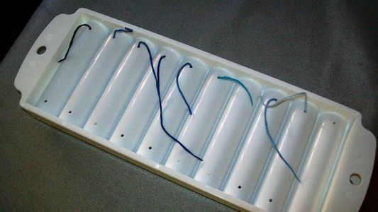 Store Embroidery Floss In Ice Trays Dollar Store Crafts