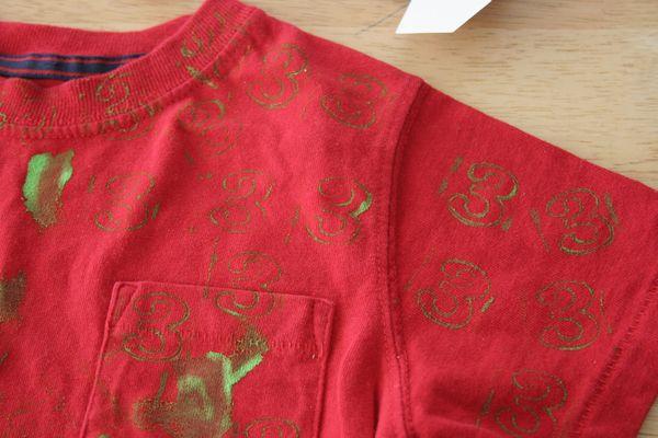 Make Custom Stamped T-shirts » Dollar Store Crafts