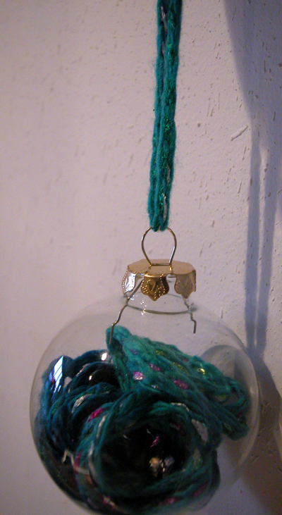 stashbust with clear glass ornaments dollar store crafts