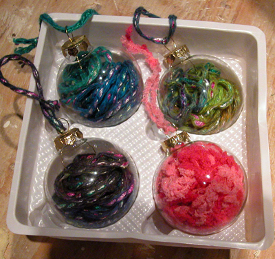 Stashbust with clear glass ornaments dollar store crafts for Clear christmas bulbs for crafting