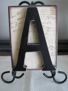 Monogram Plaque by Joys of Home