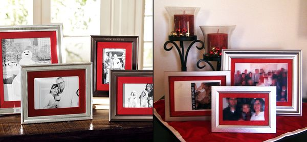 Make Pottery Barn Inspired Frames » Dollar Store Crafts