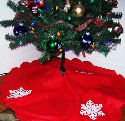 Craft Ideas Dollar Store Items on Dollar Store Crafts    Blog Archive    Make A Snowy Christmas Tree