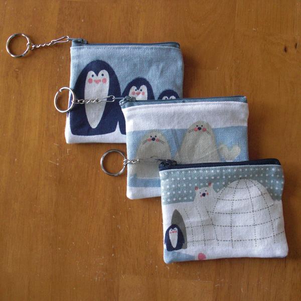 dollar coin purse keychains