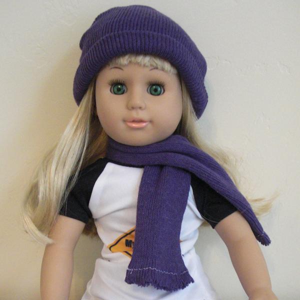dollar hat scarf