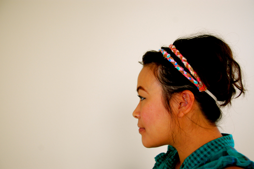 How to Make a Braided Headband Make It Perfect for a spa day (or any other day!), this cute braided head wrap is so easy to make, you'll want one in every color!