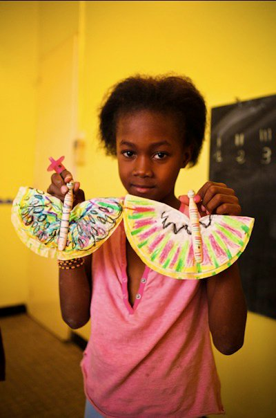 DSC Africa: Senegal Butterfly Craft
