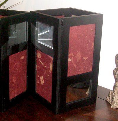 Make a Frame Lantern » Dollar Store Crafts