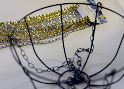 Make A Beaded Chandelier 187 Dollar Store Crafts
