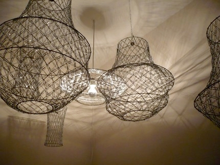 Make a fabulous paper clip chandelier dollar store crafts for Clip lights for crafts