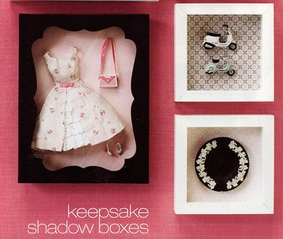 barbie shadow box
