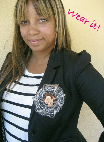 Make a Fashion-Inspired Coin Brooch » Dollar Store Crafts