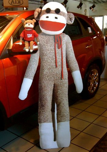 5a325d12208 DIY Sock Monkey Costume » Dollar Store Crafts