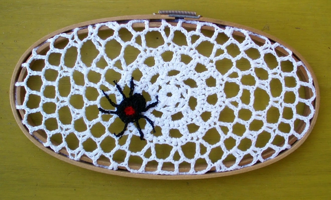 doily spiderweb