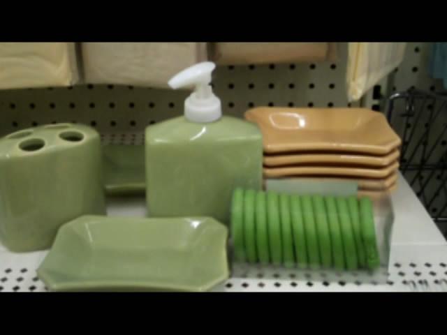Sage Green Bathroom. Dollar Scores 3  Shopping With Breanna   Dollar Store Crafts