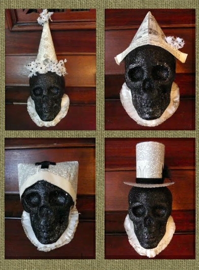 Make Boutique Halloween Skull Decorations Dollar Store