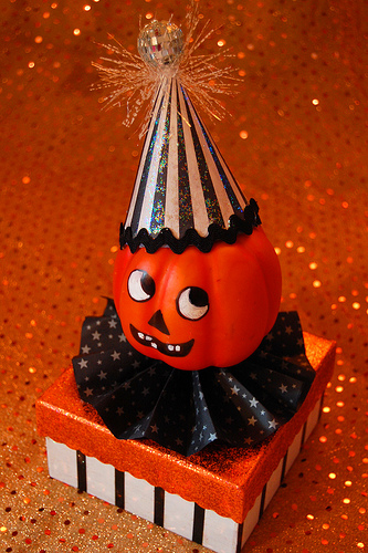 Make A Vintage Inspired Pumpkin Head Box 187 Dollar Store Crafts