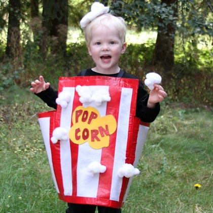 Sacchetti pop corn fai da te