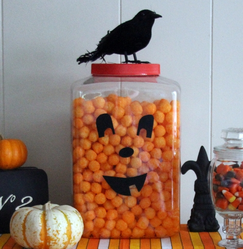 Halloween Cheeseball Jackolantern