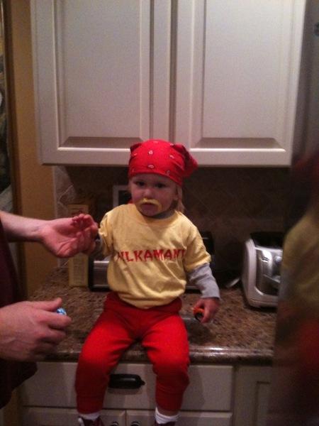 costume hulk hogan bambino