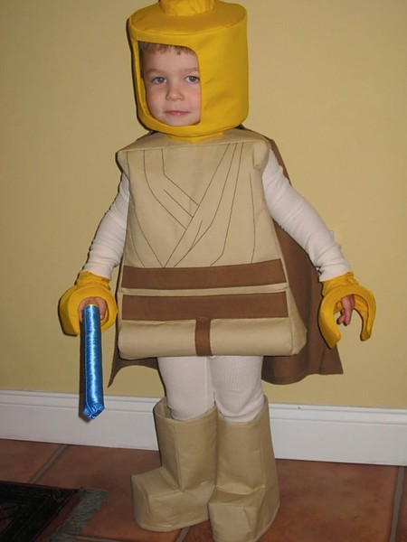 Lego Luke Costume