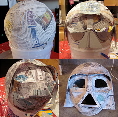 9 handmade children 39 s star wars costumes dollar store crafts for Star wars arts and crafts