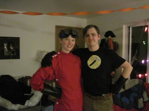couples costume dr horrible and captain hammer - Dr Horrible Halloween Costume