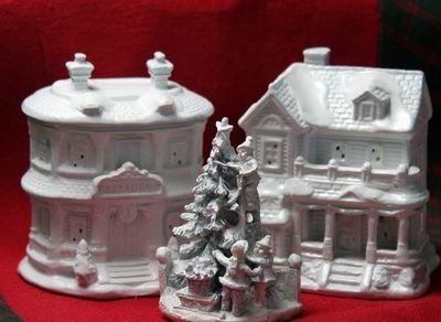 How To Store Christmas Village Houses.Make A Christmas Village Dollar Store Crafts