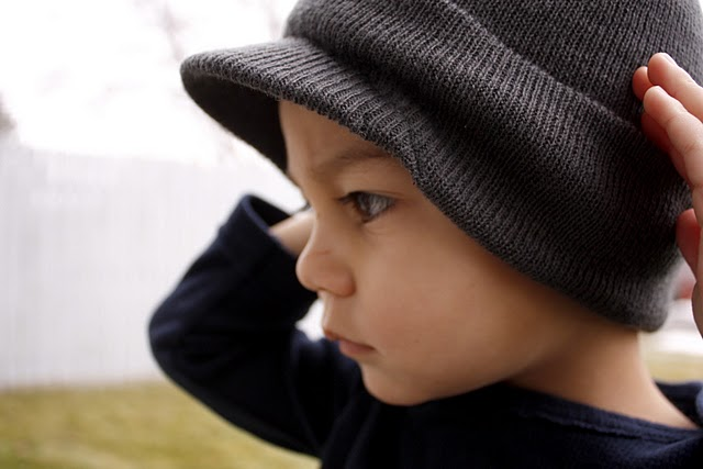 Make a Brimmed Beanie in 5 Minutes for  1 » Dollar Store Crafts efcbf9d6327