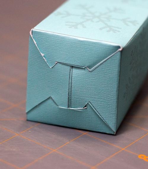Printable Christmas Favor Box » Dollar Store Crafts