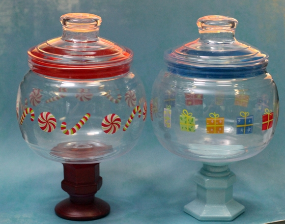 APOTHECARY CANDY JAR ANTIQUE - APOTHECARY CANDY JARS