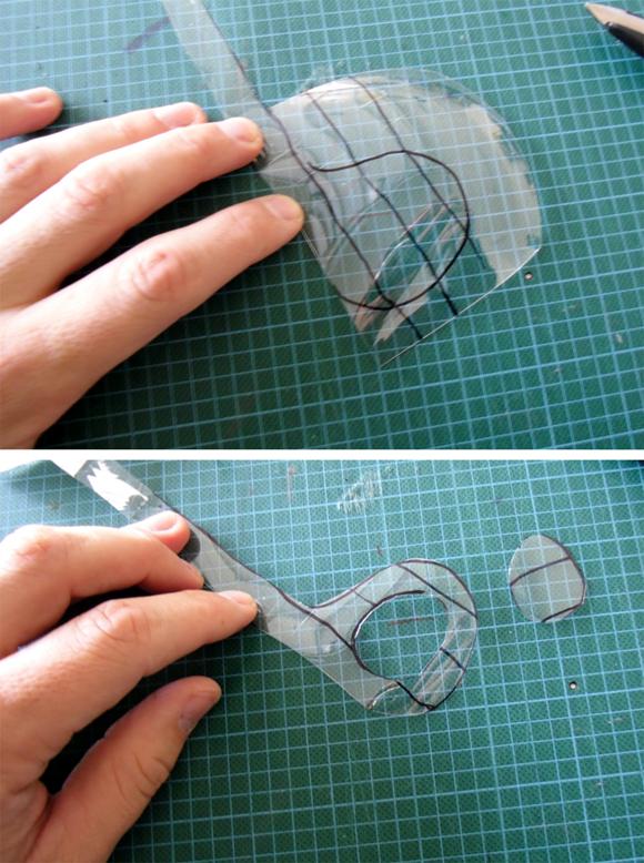 Man Crafts Recycled Plastic Drain De Clogger Dollar