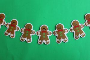 $gingerbread garland