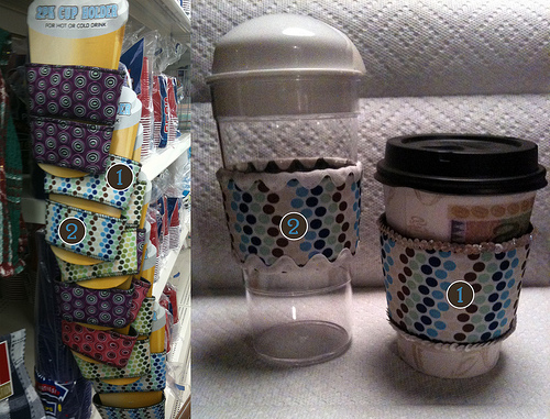 Quickly Customized Cup Cozy
