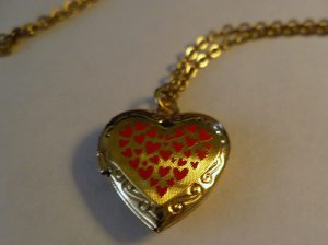 Rhonda's Gold Locket
