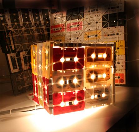 cassette tape lamp