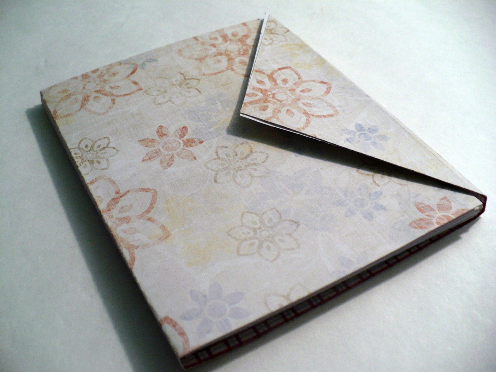 make an envelope mini album dollar store crafts