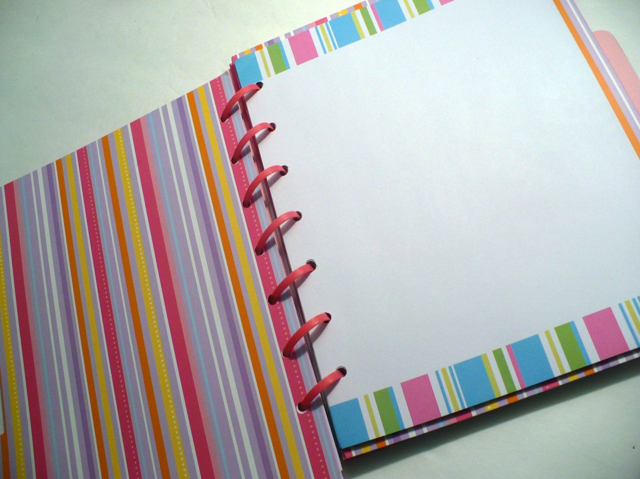 Make A File Folder Notebook 187 Dollar Store Crafts