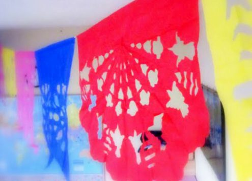 papel picado - image by Amida at Journey Into Unschooling