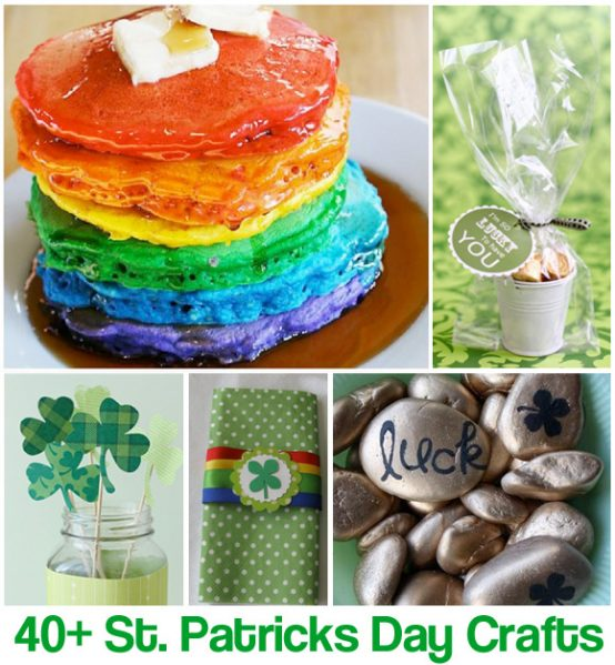 40 Crafts For St. Patrick's Day » Dollar Store Crafts