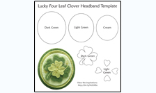 Lucky Headband Template