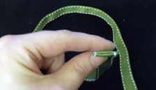 Lucky Headband: Step 3