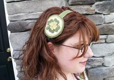 Lucky Headband: Step 9