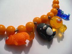 Rhonda's Gumball Machine Toy Charm Necklace