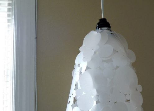 bubbles paper lamp